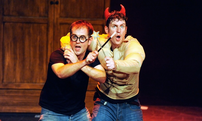 """""""Potted Potter"""" - Egyptian Room at Old National Centre: """"Potted Potter"""" at Egyptian Room at Old National Centre on March 19, 21, or 22 (Up to 43% Off)"""