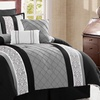 Farion Pleated Comforter Set (8-Piece)