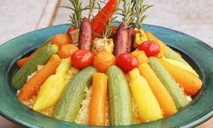 Safran et Cardamome: Menu oriental en 3 services pour 2 ou 4 personnes dès 29,99 € au restaurant Safran et Cardamome