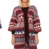 Kaleidoscope Women's Long Cardigan