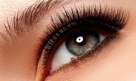 Full Set of Eyelash Extensions with Optional Fill at Vicki Sicola SkinCare (Up to 50% Off)