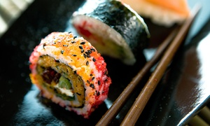 Infuzon Restaurant & Lounge: Sushi and Drinks for Two or Four at Infuzon (Up to 50% Off)