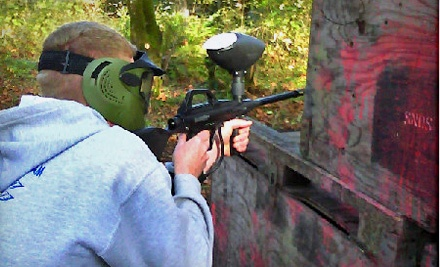 All-Day Paintball Outing for 2 People (an $80 value) - BullRun Battlefields in Sandy