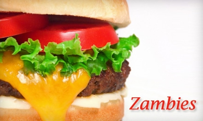 Zambie's - Odessa: $5 for $10 Worth of Burgers and More at Zambie's