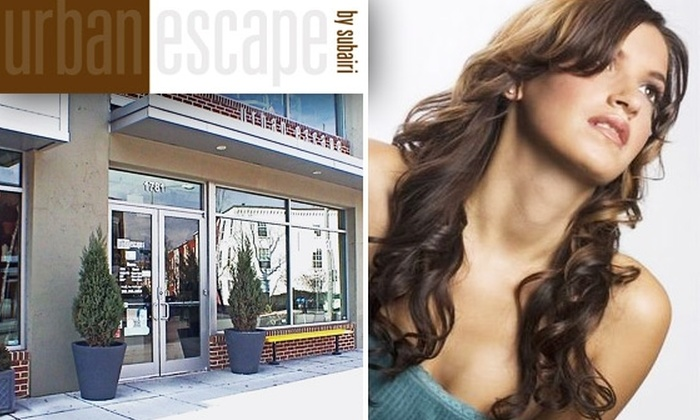 Urban Escape - Adams Morgan: $25 for $50 Worth of Haircut, Color, and Wax Services at Urban Escape
