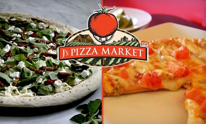 J's Pizza Market - Mentor: $15 for Two Large Specialty Pizzas at J's Pizza Market