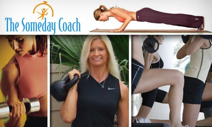 The Someday Coach - Tampa Bay Area: $35 for Four Weeks of Kettlebell Boot-Camp Fitness Classes From The Someday Coach ($159 Value)