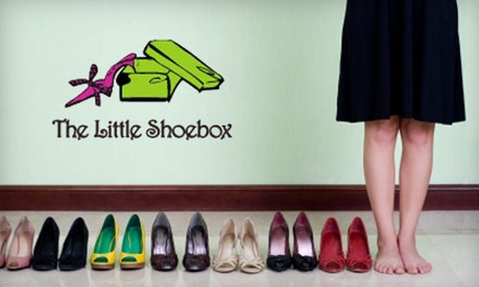 The Little Shoebox - Towson: $60 for $120 Worth of High-End Women's Shoes at The Little Shoebox in Ruxton