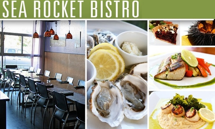 Sea Rocket Bistro - North Park: $25 for $50 Worth of Food and Drink at Sea Rocket Bistro