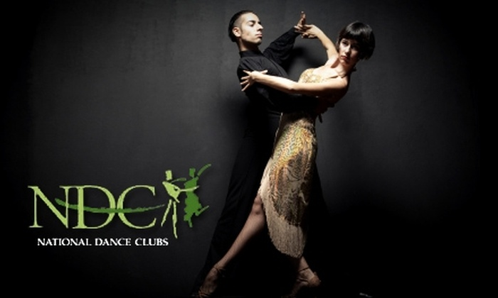 National Dance Clubs - East Ridge: $25 for an Introductory Dance Package at National Dance Clubs ($55 Value)
