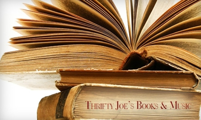 Thrifty Joe's Books & Music - Glendale: $10 for $20 Worth of Used Books at Thrifty Joe's Books & Music in Glendale