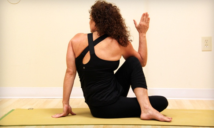 Leelaa Yoga - Springboro: $42 for One Month of Unlimited Yoga Classes at LeeLaa Yoga ($85 Value)