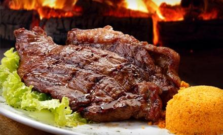 $25 Groupon - Samba Loca Brazilian Steakhouse in Carrollton
