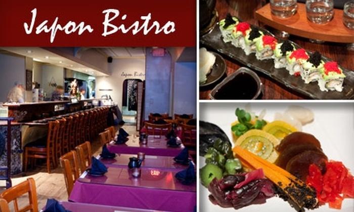 Japon Bistro - Pasadena: $20 for $40 Worth of Sushi, Sake, and Japanese Cuisine at Japon Bistro