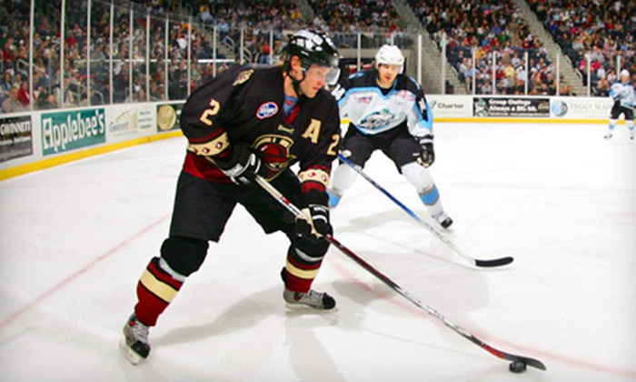 Gwinnett Gladiators - Infinite Energy Center: $20 for a Hockey Outing for Two to a Gwinnett Gladiators Game (Up to $42 Value)