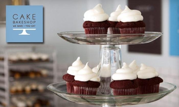 Cake Bakeshop - Manhattan Beach: $11 for a Dozen Minicupcakes at Cake Bakeshop in Manhattan Beach