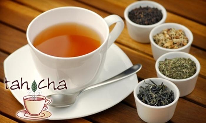 tahCha Tea House - Tucker: $24 for an Afternoon Tea for Two at tahCha Tea House ($48 Value)