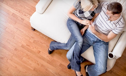 Up to 600 Square Feet of Hardwood or Laminate Flooring Refurbishment  - City Maid Service in