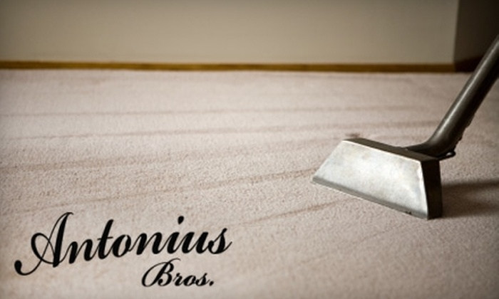 Antonius Bros. Cleaning Services - Lakewood: $57 for a Two-Room Carpet Cleaning from Antonius Bros. Cleaning Services