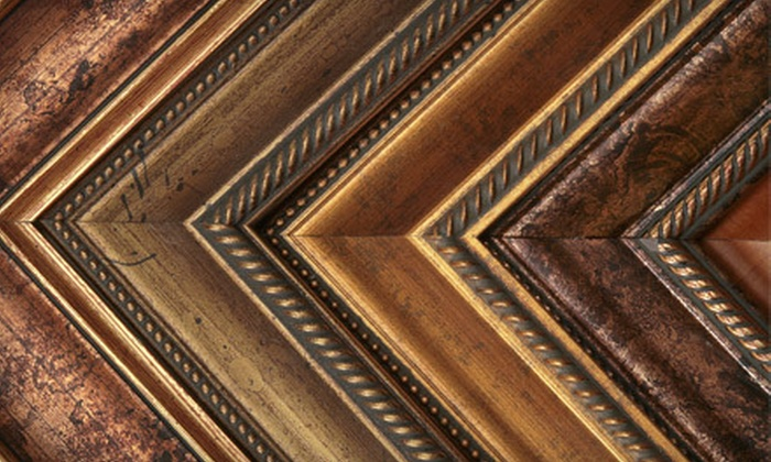 Fort Worth Camera - Cultural District: Custom Framing at Fort Worth Camera (Up to 63% Off). Two Options Available.