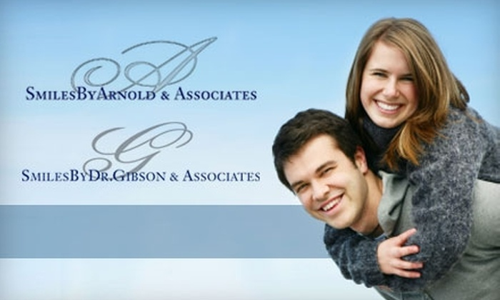 Smiles by Dr. Gibson & Associates - Multiple Locations: $179 for In-Office Zoom! Teeth Whitening at Smiles By Dr. Gibson in Naperville or Smiles By Arnold in Indiana ($699 Value)