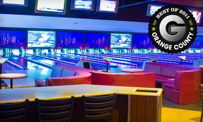 Concourse Entertainment Center - Anaheim: $20 for a 1.5-Hour Bowling Outing with Shoe Rental for Four at Concourse Entertainment Center in Anaheim ($56 Value)