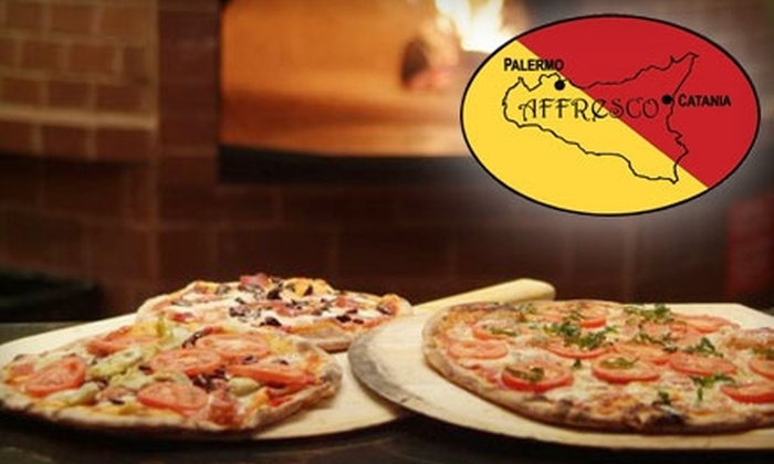 Affresco Pizzeria/Lounge - Park Ridge: $20 for $50 Worth of Dinner at Affresco Pizzeria/Lounge in Park Ridge (or $10 for $25 Worth of Brunch)