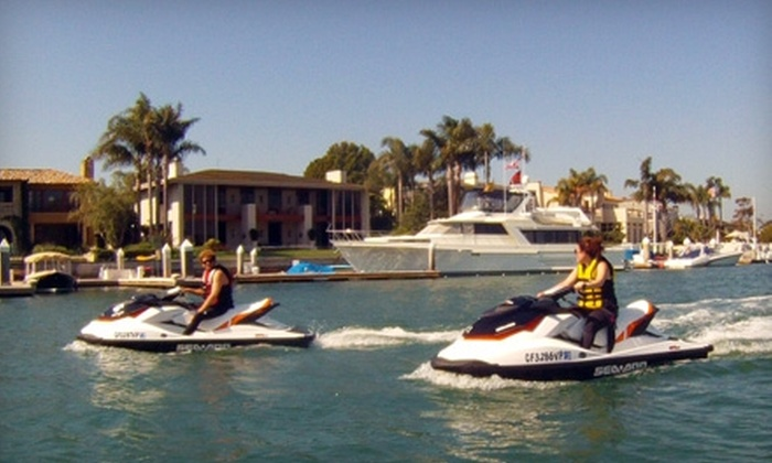 Balboa Water Sports - Newport Beach: $129 for Two-Hour Guided Jet-Ski Ride From Balboa Water Sports in Newport Beach ($350 Value)