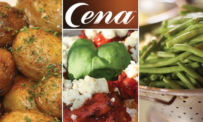 Cena - East Ocean View: $9 for Any Pre-Prepared Meal for Three Adults at Cena, Plus 10% Off Bottle Of Wine ($19 Value)