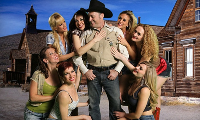 """The Best Little Whorehouse in Texas"" - Las Vegas: $40 for VIP Table Seating at ""The Best Little Whorehouse in Texas"" at The Plaza Hotel and Casino (Up to $80.95 Value). 11 Shows Available."