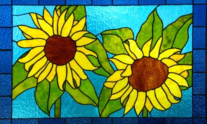 Rainbow Vision Stained Glass - Penbrook:  $25 for an Introductory Stained-Glass Workshop at Rainbow Vision Stained Glass ($50 Value)