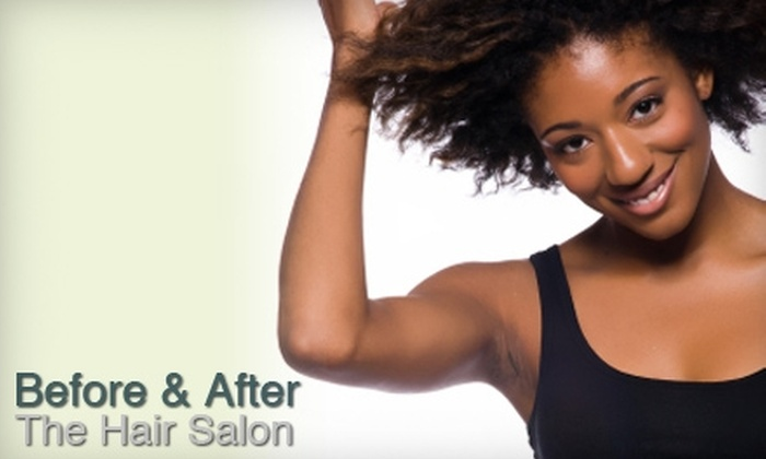Before & After The Hair Salon - Southaven:  $30 for $60 Worth of Services at Before & After The Hair Salon