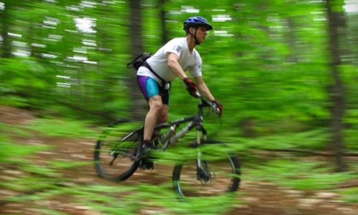 Back Country Excursions - Parsonsfield: $200 for a Mountain-Biking Adventure Weekend from Back Country Excursions