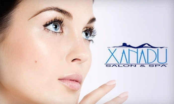 Xanadu Salon & Spa - Richland Heights East: $50 for an Ultimate Facial or $99 for Keratin Complex Hair-Smoothing Treatment at Xanadu Salon & Spa