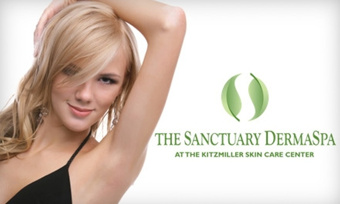 The Sanctuary DermaSpa - Blue Ash: $150 for Laser Hair-Removal Treatments at The Sanctuary DermaSpa. Choose Between Two Options.