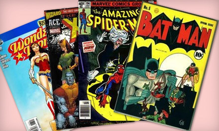 Legends Clearing House: $ 39 for 50–75 Classic Comic Books from Legends Clearing House ($ 550 Value)