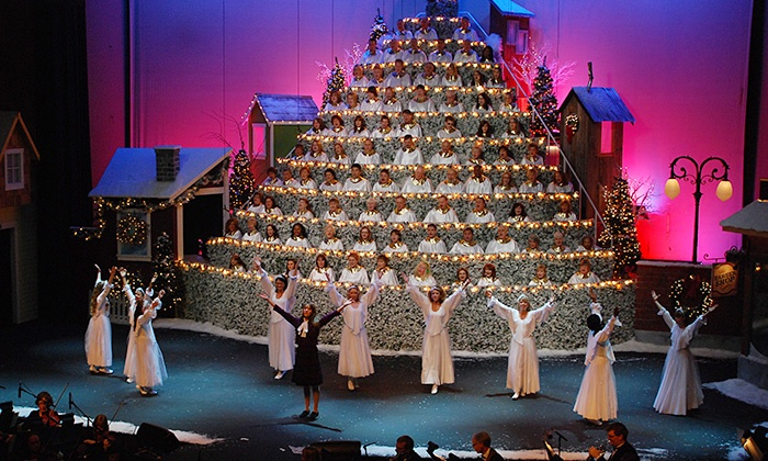 """""""2013 Singing Christmas Tree"""" - Central: """"2013 Singing Christmas Tree"""" for Two at Life Center Church on December 6 or 15 (Up to 50% Off)"""