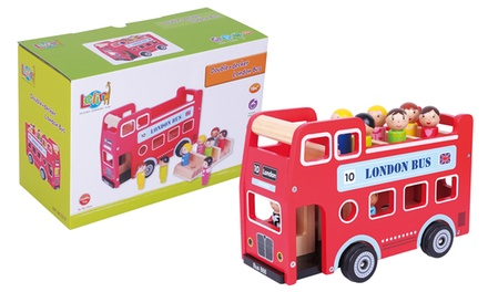 Lelin DoubleDecker Toy Bus