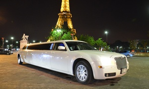 Limousine events: Paris by night en limousine pour 8 personnes à 129 € avec Limousine Events
