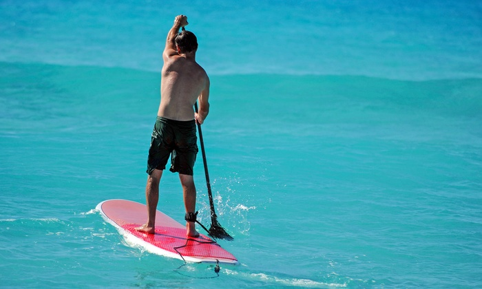 Beach Water Sports - Multiple Locations: Paddleboard or Kayak Rental from Beach Water Sports (Up to 51% Off). Four Options Available.
