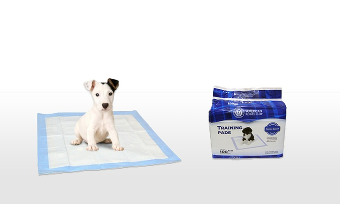 100-Pack of American Kennel Club Puppy-Training Pads: 100-Pack of American Kennel Club Puppy-Training Pads. Free Returns.