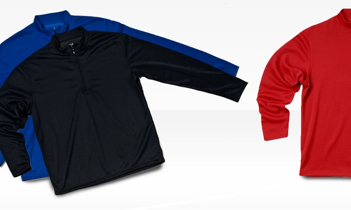 Zorrel Zip Pullover: Zorrel Zip Pullover in Kona Lightweight or Hilo Full Weight. Multiple Colors Available.