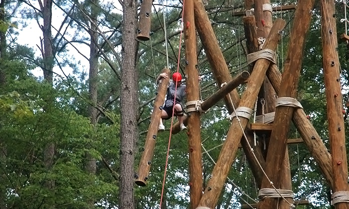 Outdoor Adventures of Tennessee - Benton: Aerial Adventure and Tubing from Outdoor Adventures of Tennessee for One or Two (Up to 53% Off). 4 Options.