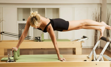 Five Pilates Classes or One Month of Unlimited Classes at Pilates V (Up to 66% Off)