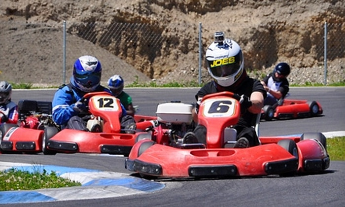 PGP Motorsports Park - Kent: Go-Kart Racing Package for One or Two at PGP Motorsports Park (Up to 54% Off)