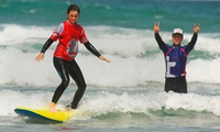 Two-Hour Surfing Lesson for One or Two at Ticket to Ride (33% Off)