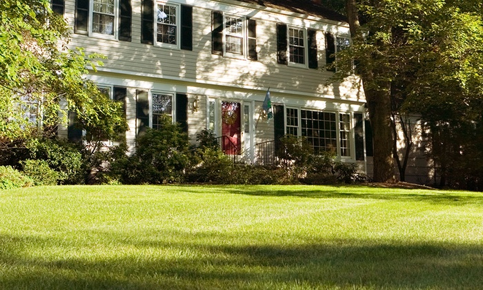 1st Essential Property Services - Brantford: Lawn Aeration and Fertilization for Up to 5,000 or 10,000 Square Feet from 1st Essential Property Services (50% Off)