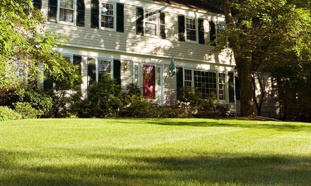 Lawn Aeration and Fertilization for Up to 5,000 or 10,000 Square Feet from 1st Essential Property Services (50% Off)