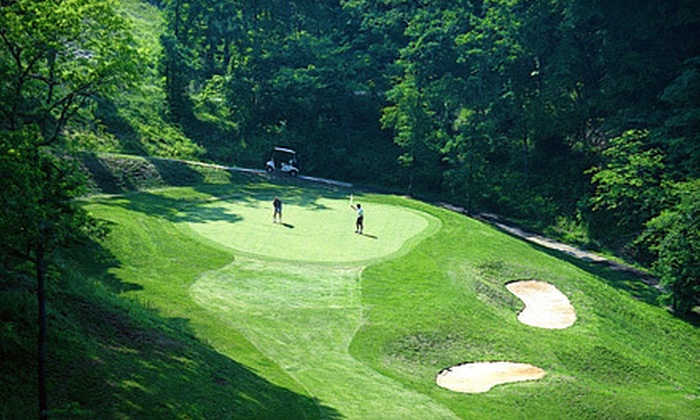 Smoky Mountain Country Club - Whittier: Golf Outing for Two or Four with Cart Rental at Smoky Mountain Country Club in Whittier (Up to 58% Off)
