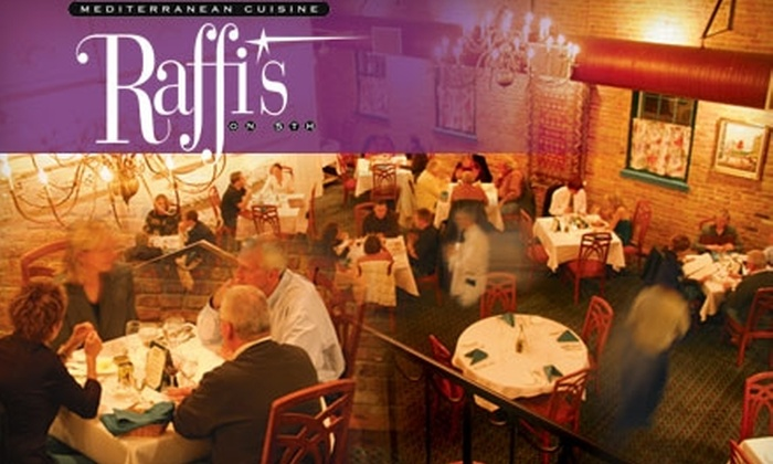 Raffi's on 5th - Naperville: $20 for $45 Worth of Mediterranean Fusion Cuisine at Raffi's on 5th in Naperville